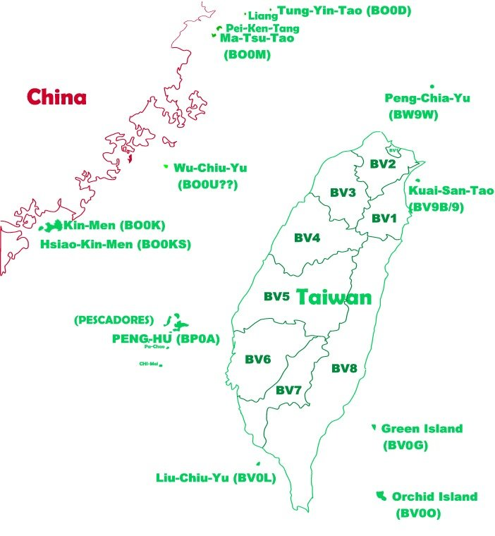 Taiwan's Island, Expedition Location